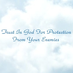 trust god | protection enemies